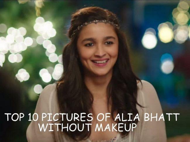 Top 10 des photos de maquillage sans autres Bhatt