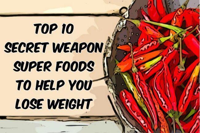 Top 10 secrets d`armes super-aliments pour vous aider à perdre du poids