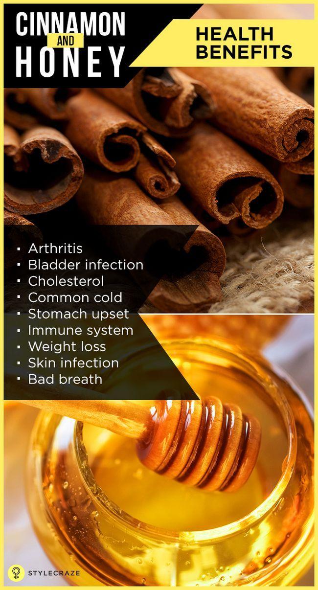 Top avantages pour la santé 16 miel et de cannelle