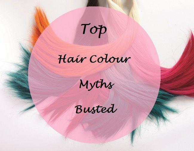 Top 5 mythes de couleur de cheveux: éclatés faits vs mythes
