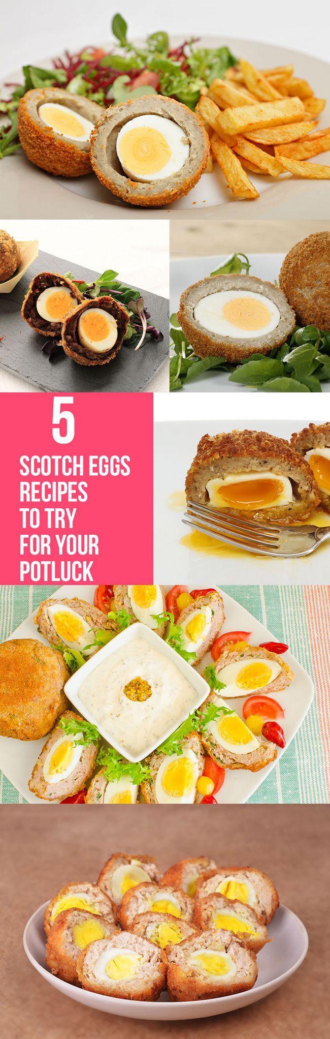 Top 5 des recettes d`œufs de scotch pour essayer pour votre repas-partage