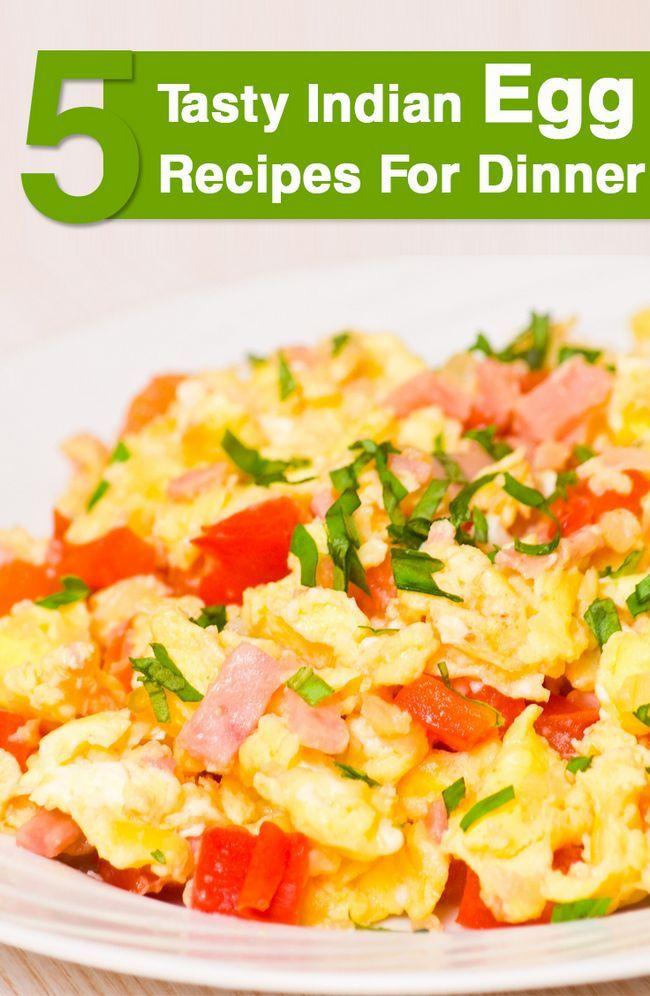 Top 5 délicieuses recettes d`œufs indiens pour le dîner