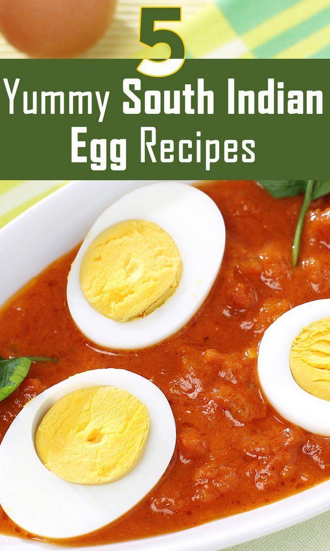 Top 5 des recettes d`œufs indiens délicieux au sud d`essayer