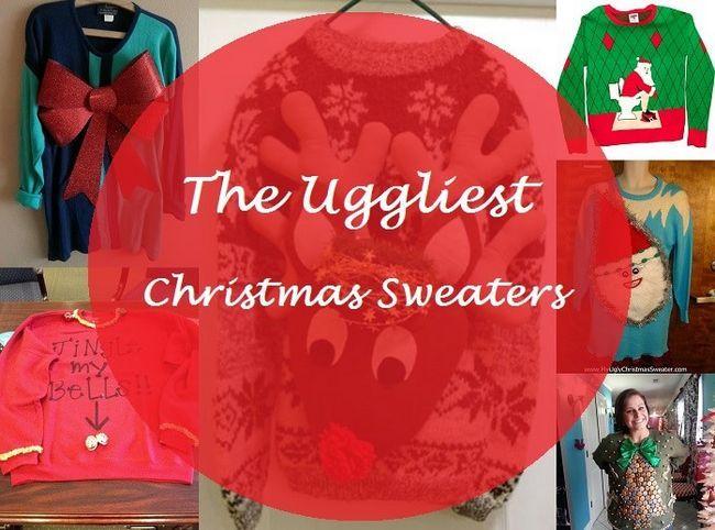 Top 7 des pulls moches pour Noël: jeter une soirée à thème pull!