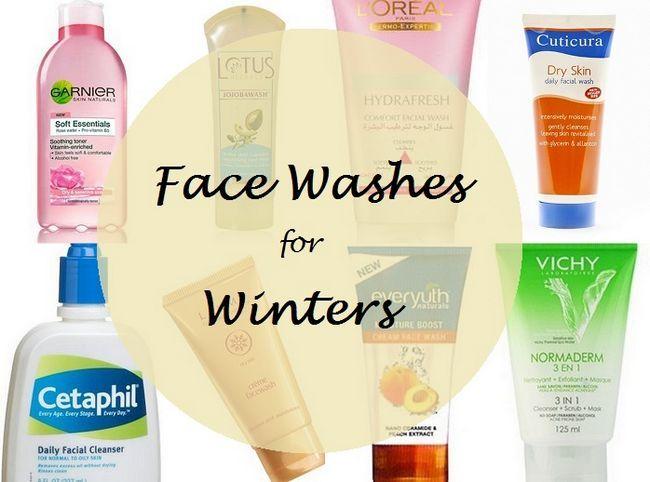Top 8 lavage du visage pour les peaux sèches en saison d`hiver en Inde
