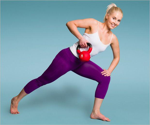 Top 8 des exercices kettlebell pour les femmes