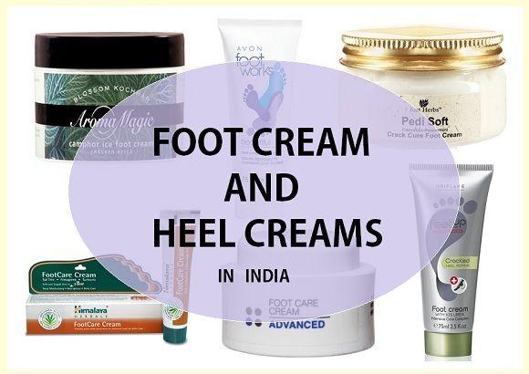 Top meilleures crèmes pour les pieds et les crèmes de talon en Inde avec le prix