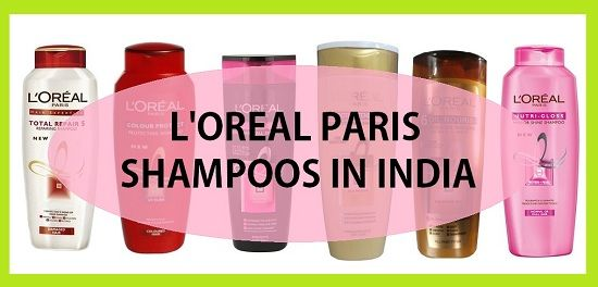 Top shampoings L`oreal paris en Inde