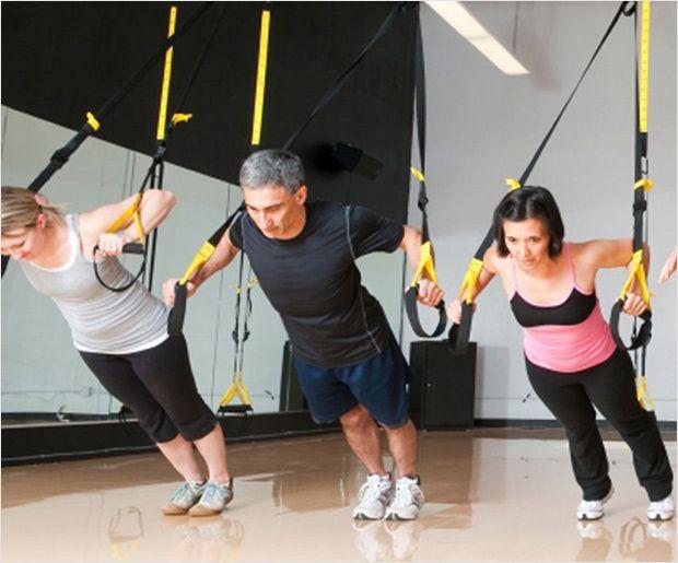 Exercices de base TRX pour les débutants