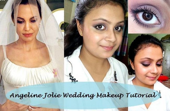 Tutoriel: comment angelina jour mariage inspiré pitt jolie look maquillage
