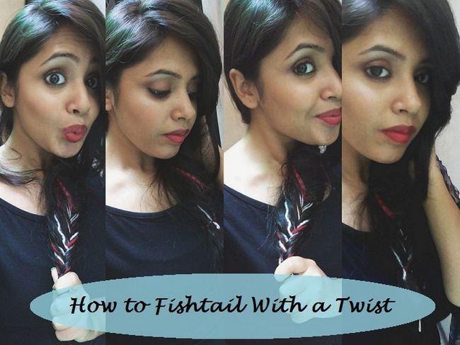 Tutoriel: comment boho coiffure tressée en queue de poisson avec des couleurs