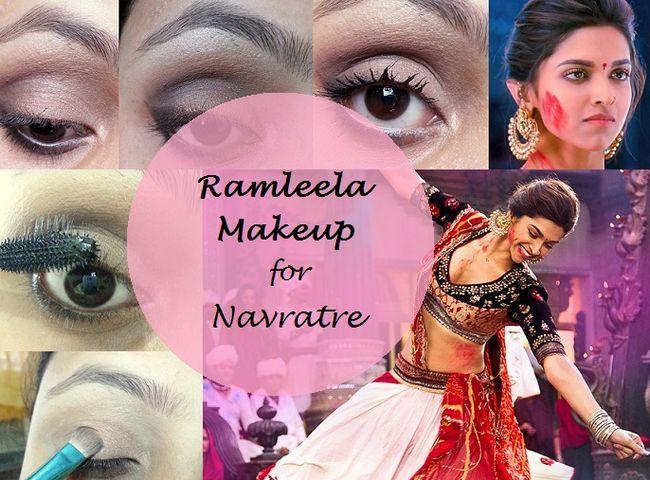 Tutoriel: comment deepika padukone ram maquillage Leela chercher Navratri