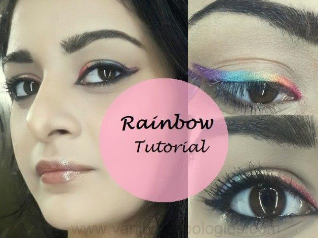 Tutoriel: comment faire le maquillage des yeux arc / eye-liner regarder facilement
