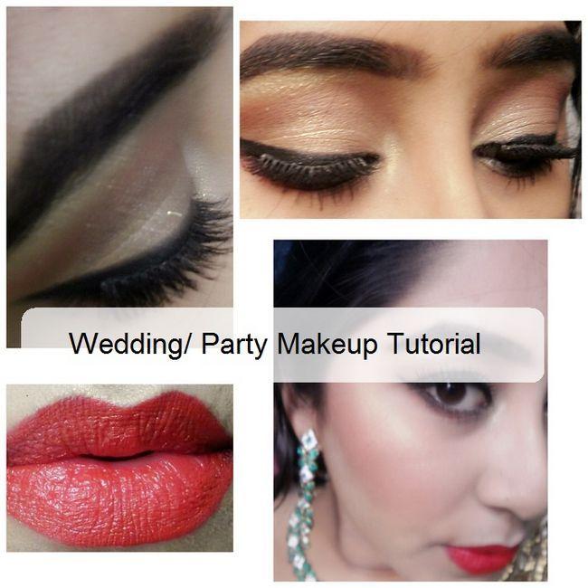 Tutoriel: comment faire le maquillage de fête de mariage à la maison