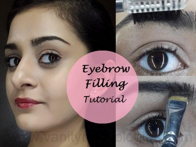 Tutoriel: comment remplir les sourcils sombres sans fard à paupières ou un crayon