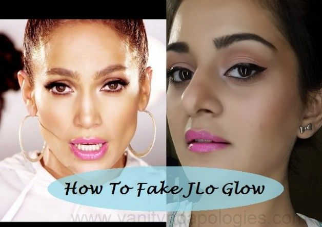 Tutoriel: comment jennifer lopez look maquillage couleur bronze