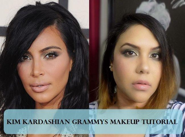 Tutoriel: comment kim kardashian yeux charbonneux et des lèvres nues