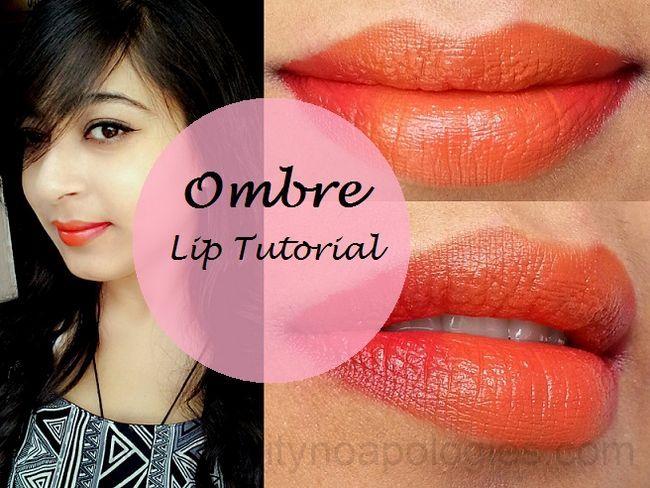 Tutoriel: comment perfectionner les lèvres de gradient en 4 étapes ombre!