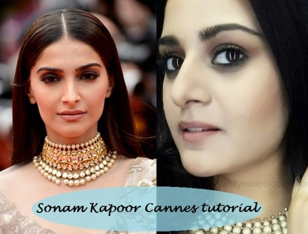 Tutoriel: sonam kapoor 2014 Cannes look inspiré de maquillage