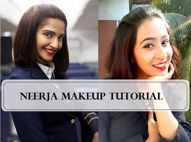 Tutoriel: Sonam film kapoor de Neerja inspiré look maquillage