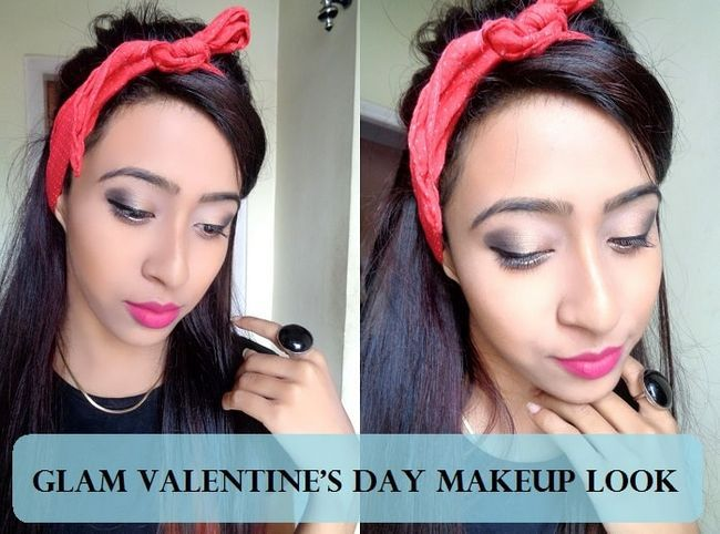 Tutoriel: Saint-Valentin romantique look maquillage rose