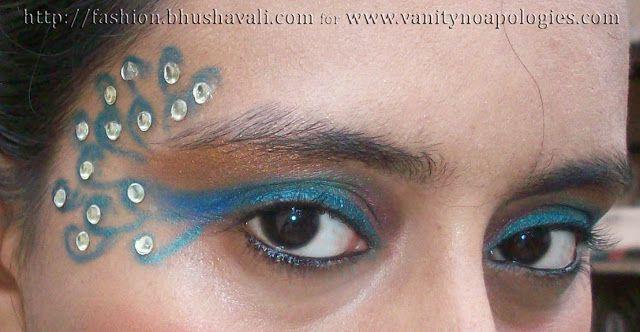 VNA l`oreal paris concours maquillage oeil été entrée 15 - yeux de paon