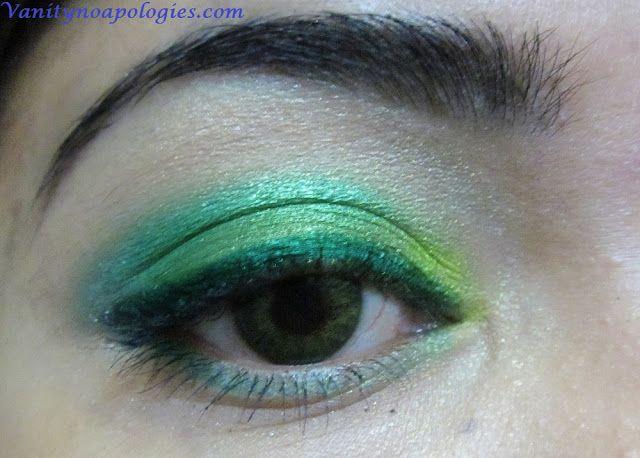 VNA l`oreal été paris inscription au concours de maquillage des yeux 5 - vert de la mer