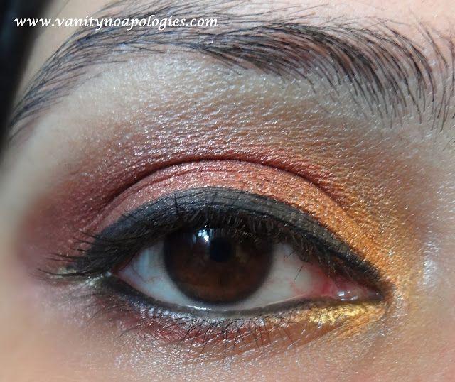 VNA l`oreal paris concours maquillage oeil été entrée 4 - coucher du soleil d`été