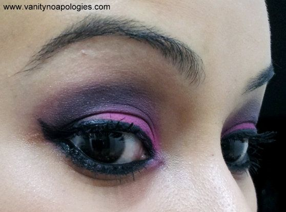 VNA l`oreal été paris inscription au concours de maquillage des yeux 13 - une étude fuschia