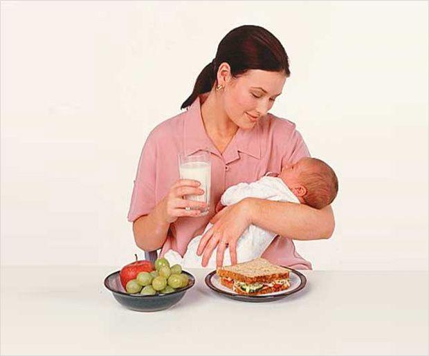Que manger pendant l`allaitement