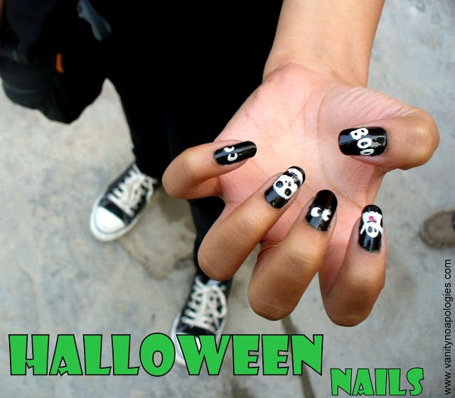 Ce qui est inspiré application des clous Halloween!