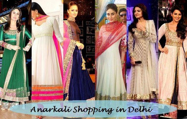 Où acheter des costumes Anarkali à delhi: 8 meilleurs magasins pour faire du shopping