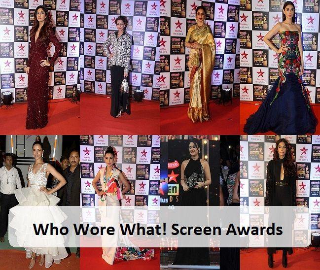 Qui portait quoi: Star Awards écran 2016